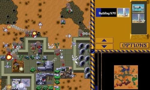 Screenshot von Dune 2