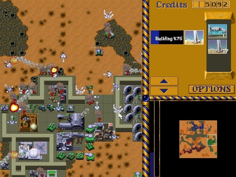 Screenshot von Dune 2