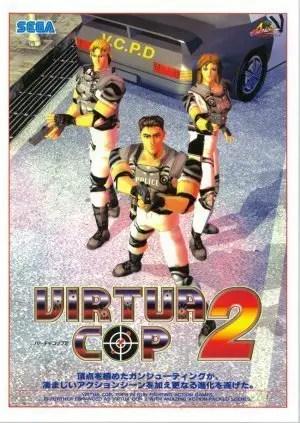 Cover von Virtua Cop 2 (japanische Version)