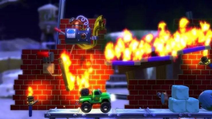 Screenshot von Crazy Machines Elements