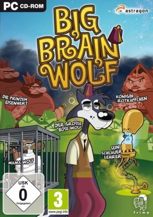 Big Brain Wolf Cover