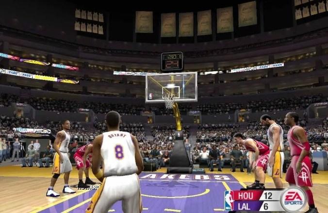 NBA Live 2005 - Screenshot