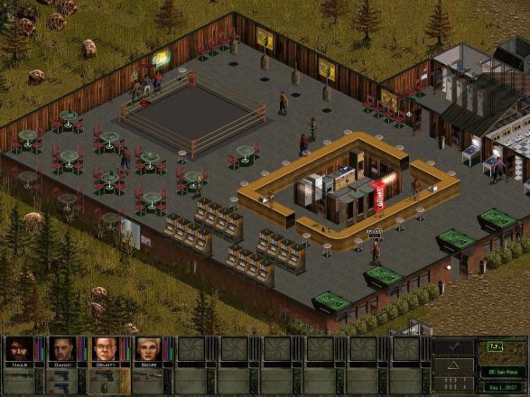 Jagged Alliance 2: Wildfire - Screenshot