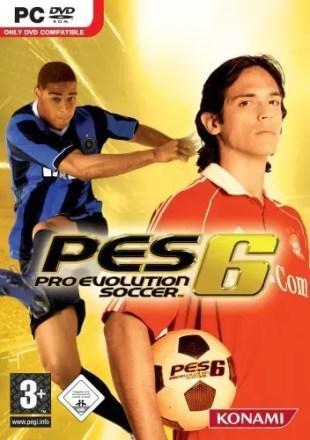 Pro Evolution Soccer 6 - Cover