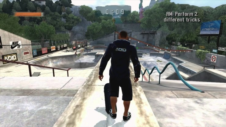 Tony Hawk's Project 8 - Screenshot