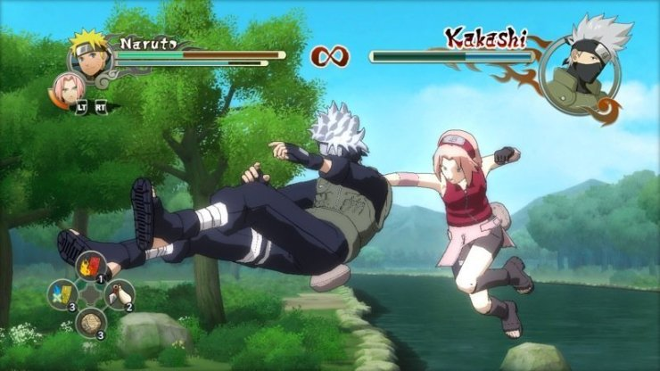 Naruto Shippuden: Ultimate Ninja Storm 2 - Screenshot