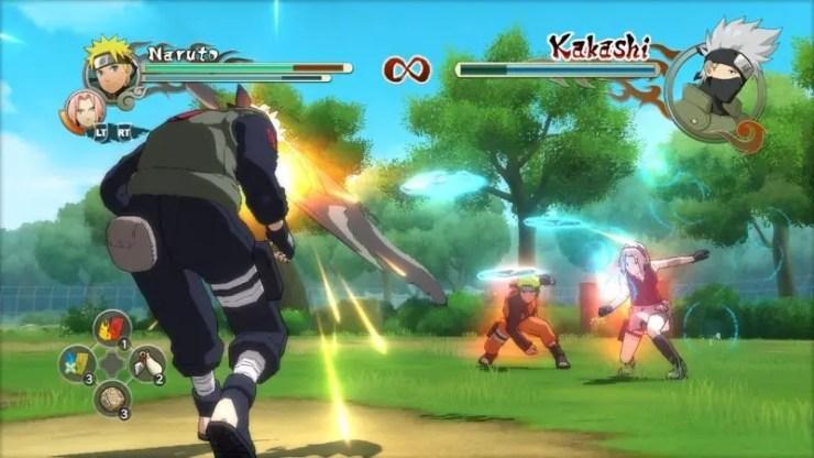 Naruto Shippuden: Ultimate Ninja Storm 2 - Screenshot