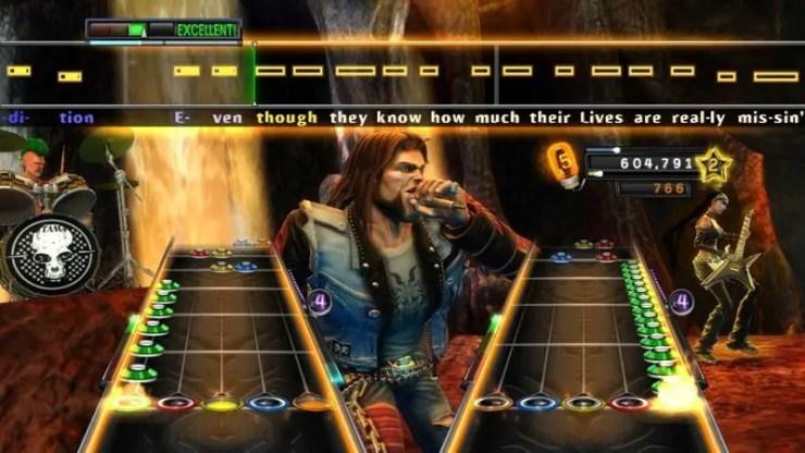Guitar Hero: Warriors of Rock - Screenshot