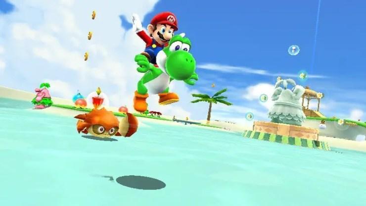 Super Mario Galaxy 2 - Screenshot