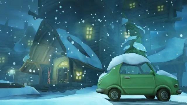 Scooby-Doo! Und der Spuk im Sumpf - Screenshot in den Alpen