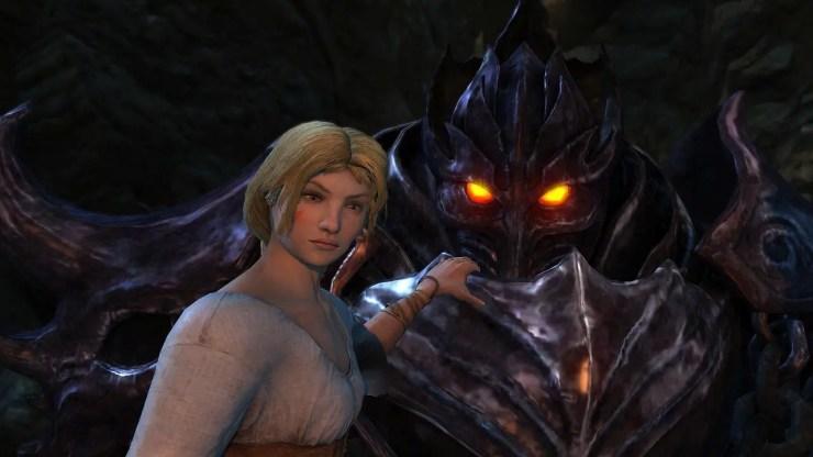 Castlevania: Lords of Shadow - Claudia und der Schwarze Ritter