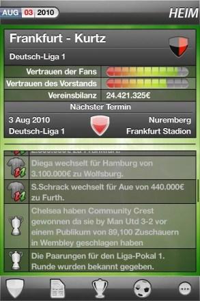 MyFC DACH - Screenshot