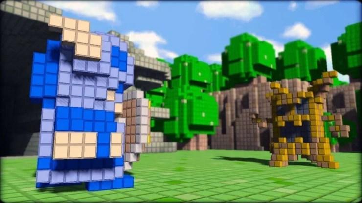 3D Dot Game Heroes - Screenshot