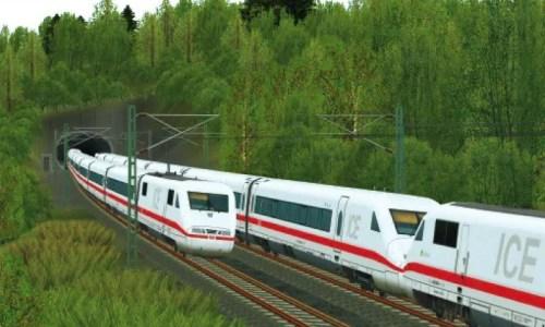 Eisenbahn-Simulator - ICE