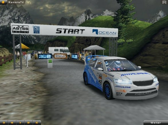 Rally Master Pro 3D - iPad-Screenshot