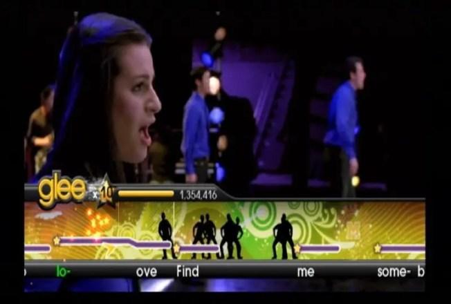 Karaoke Revolution Glee - Screenshot
