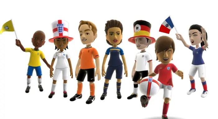 Xbox-Avatare im WM-Stil von Konami