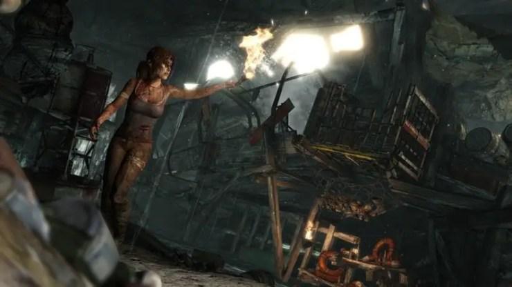 Tomb Raider: Lara erkundet die Höhle