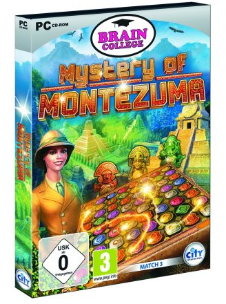 Mystery of Montezuma - Packshot