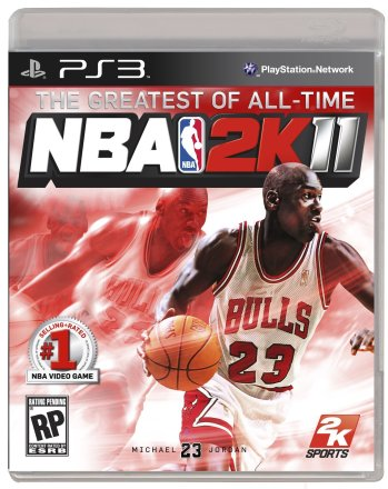 NBA 2K11 - Cover PS3