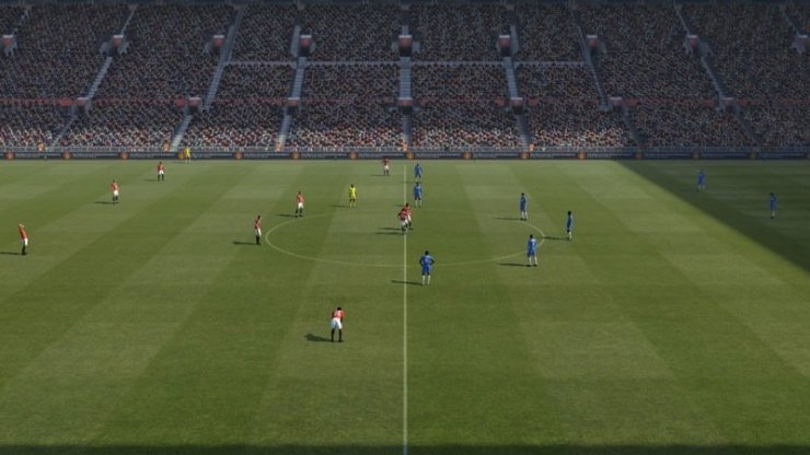 PES 2011 - Screenshot Anstoß