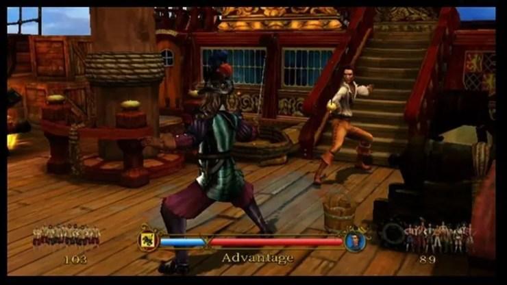 Sid Meier's Pirates - Wii-Screenshot