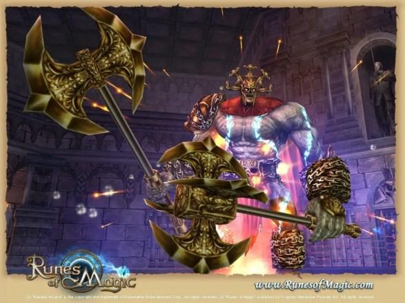 Runes of Magic - Warnorken-Arena