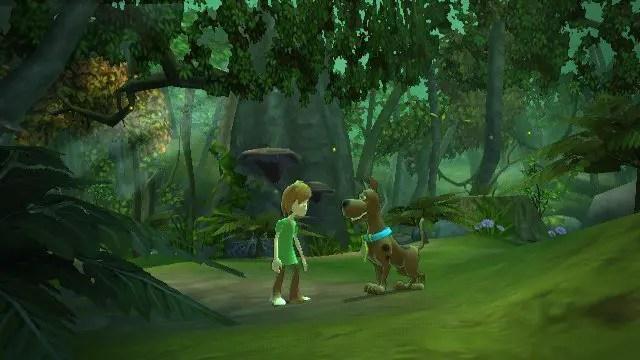 Scooby-Doo! Und der Spuk im Sumpf - Screenshot im Sumpf