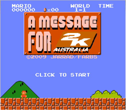 Jarrad Farbs: A Message for 2K Australia