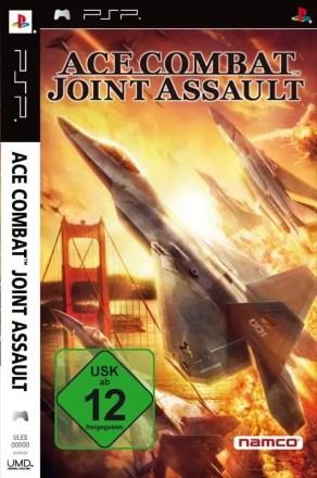 Ace Combat: Joint Assault - Cover PSP