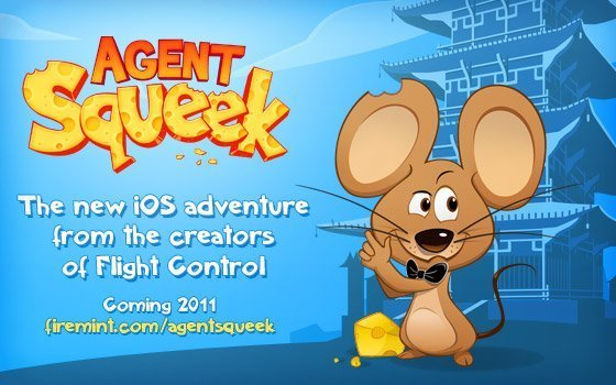 Agent Squeek - Startbildschirm