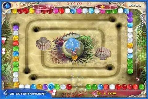 Aqua Pearls - Screenshot