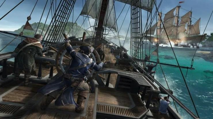 Assassin's Creed 3 - Seeschlacht