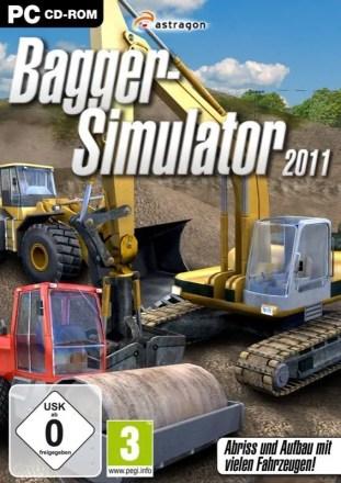 Bagger-Simulator 2011 - Cover PC