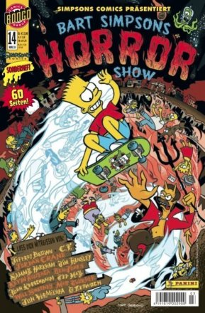 Bart Simpsons Horror Show #14 - Cover