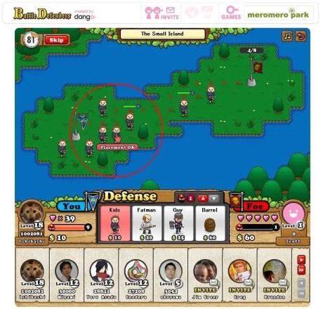 Battle Defenders - Screenshot
