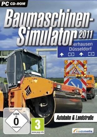 Baumaschinen-Simulator 2011 - Cover PC