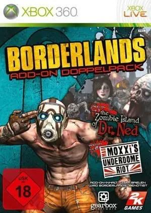 Borderlands: Add-on Doppelpack - Packshot Xbox 360