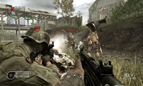 Call of Duty 4: Modern Warfare - Screenshot