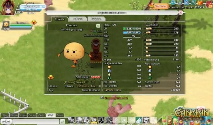 Canaan Online - Screenshot