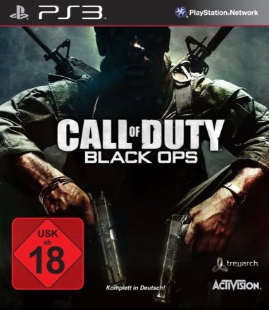 Call of Duty: Black Ops - Packshot PS3