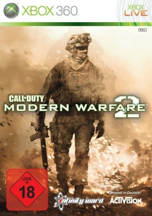 Call of Duty: Moden Warfare 2 - Packshot Xbox 360