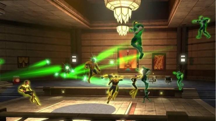 DC Universe Online: Die Green Lanterns
