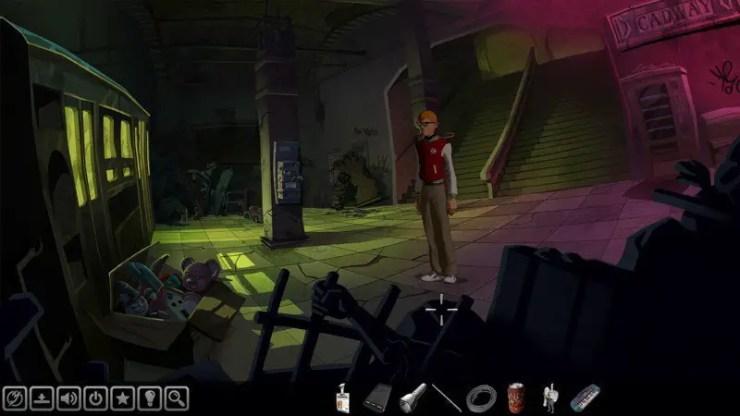 Der Fall John Yesterday - Screenshot