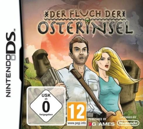 Der Fluch der Osterinsel - Cover NDS