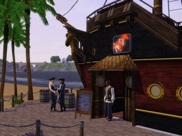 Die Sims 3: Barnacle Bay - Screenshot