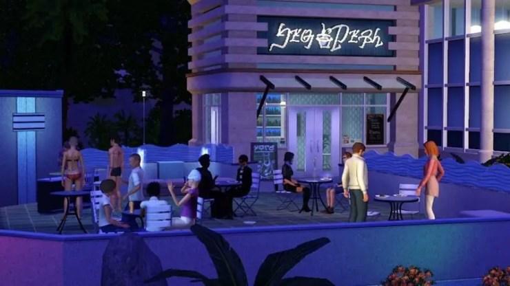Die Sims 3: Stadt Accessoires - Screenshot