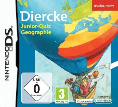 Diercke Junior-Quiz Geographie - Cover NDS