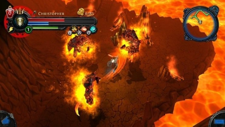Dungeon Hunter Alliance - Screenshot PS Vita