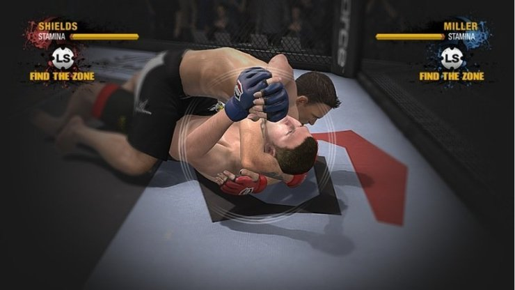 EA Sports MMA - Screenshot
